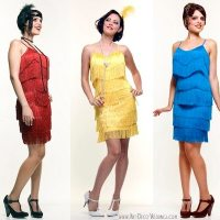 Flapper Bridesmaid Dresses
