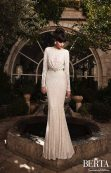 High Neck Wedding Gown || Berta