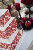 Red Vintage Wedding
