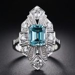 Vintage Zircon Art Deco Jewelry || December Birthstone