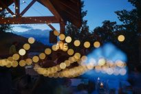 Vintage Outdoor Wedding Lights