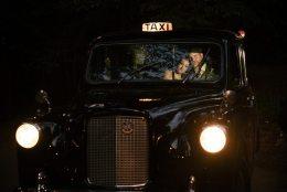 Vintage Wedding Taxi