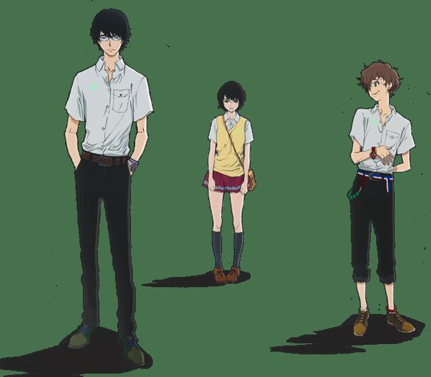 terror in tokyo personajes