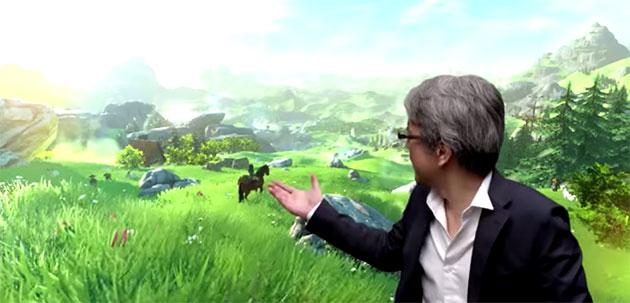 El protagonista de Persona 4 presenta The Legend of Zelda para Wii U