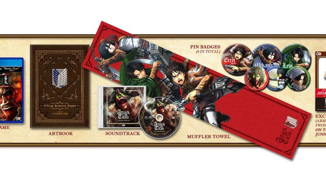 AOT Wings of Freedom Treasure Box