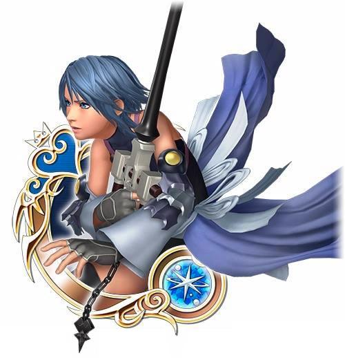 Aqua-Kingdom-Hearts-Unchained-X