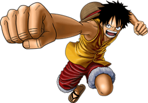 Monkey D Luffy One Piece Burning Blood