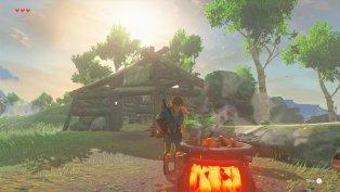 The Legend of Zelda Breath of the Wild gameplay 04
