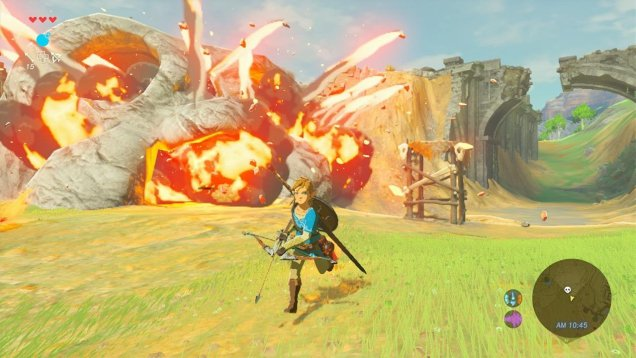 The Legend of Zelda Breath of the Wild gameplay 07