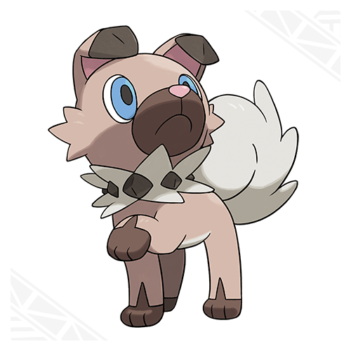 Rockruff Pokemon 1