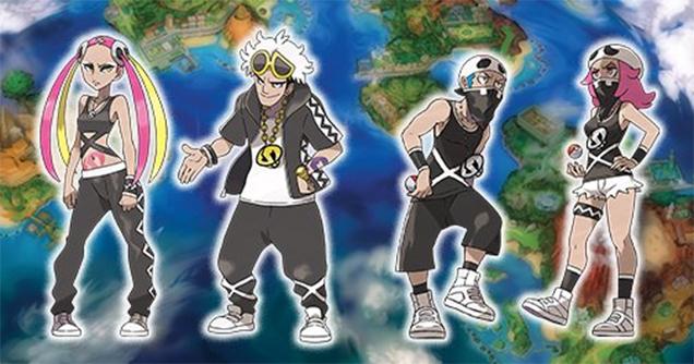 Team Skull - Pokémon Sol Luna