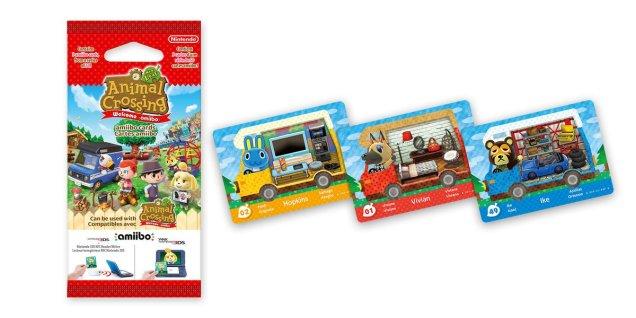Animal Crossing tarjetas amiibo