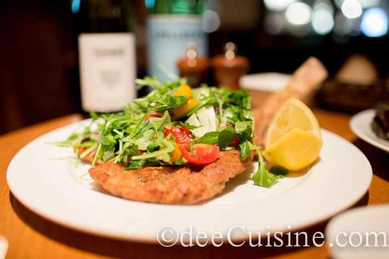 Veal Chop Milanese