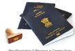 E passport with electronic chip in India