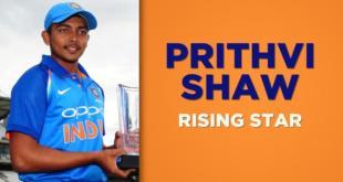 Prithvi Shaw
