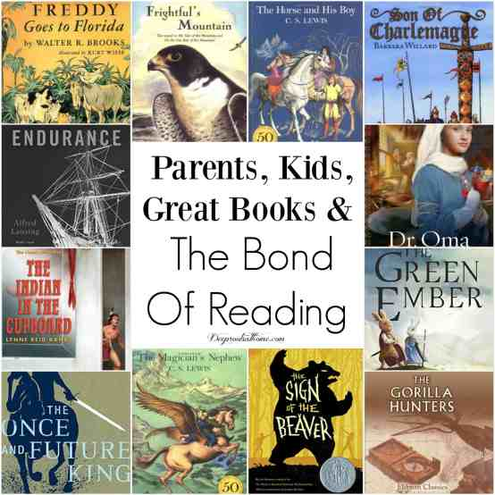 Parents, Kids, Great Books & The Bond Of Reading, Sarah Mackenzie, Alice Ozma, The Reading Promise, Scottish folklore, seanchai, storyteller, stories, legends, poems, songs, oral tradition, dreams, values, bonding, intentional, read aloud, sons, daughters, one year of books, culture, Centerburg Tales, Adventures of Homer Price, Robert McCloskey, Frightful's Mountain, Jean Craighead George, Three Months Under the Snow, Jacques Porchat, Anne of Green Gables, L.M. Montgomery, The Magician's Nephew, C.S. Lewis, The Lion, the Witch and the Wardrobe, The Horse and His Boy, Prince Caspian, The Voyage of the Dawn Treader, The Silver Chair, The Last Battle, Gorilla Hunters, R.M. Ballentine, Indian in the Cupboard, Banks, Son of Charlemagne, Willard, Freddy Goes To Florida, Walter R. Brooks, Sign of the Beaver, Elizabeth George Speare, Endurance: Shackleton's Incredible Voyage, Alfred Lansing, The Green Ember, S.D. Smith, The Dragon and the Raven: Or, The Days of King Alfred, G.A. Henty, Rascal, Sterling North, Around the World in 80 Days, Jules Verne, The Once and Future King, T.H. White, The Little Duke, Charlotte Mary Yonge, adventure, imagination, fun, character, think biblically, wholesome, read a book