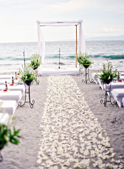 50 Beach Wedding Aisle Decoration Ideas | Deer Pearl Flowers