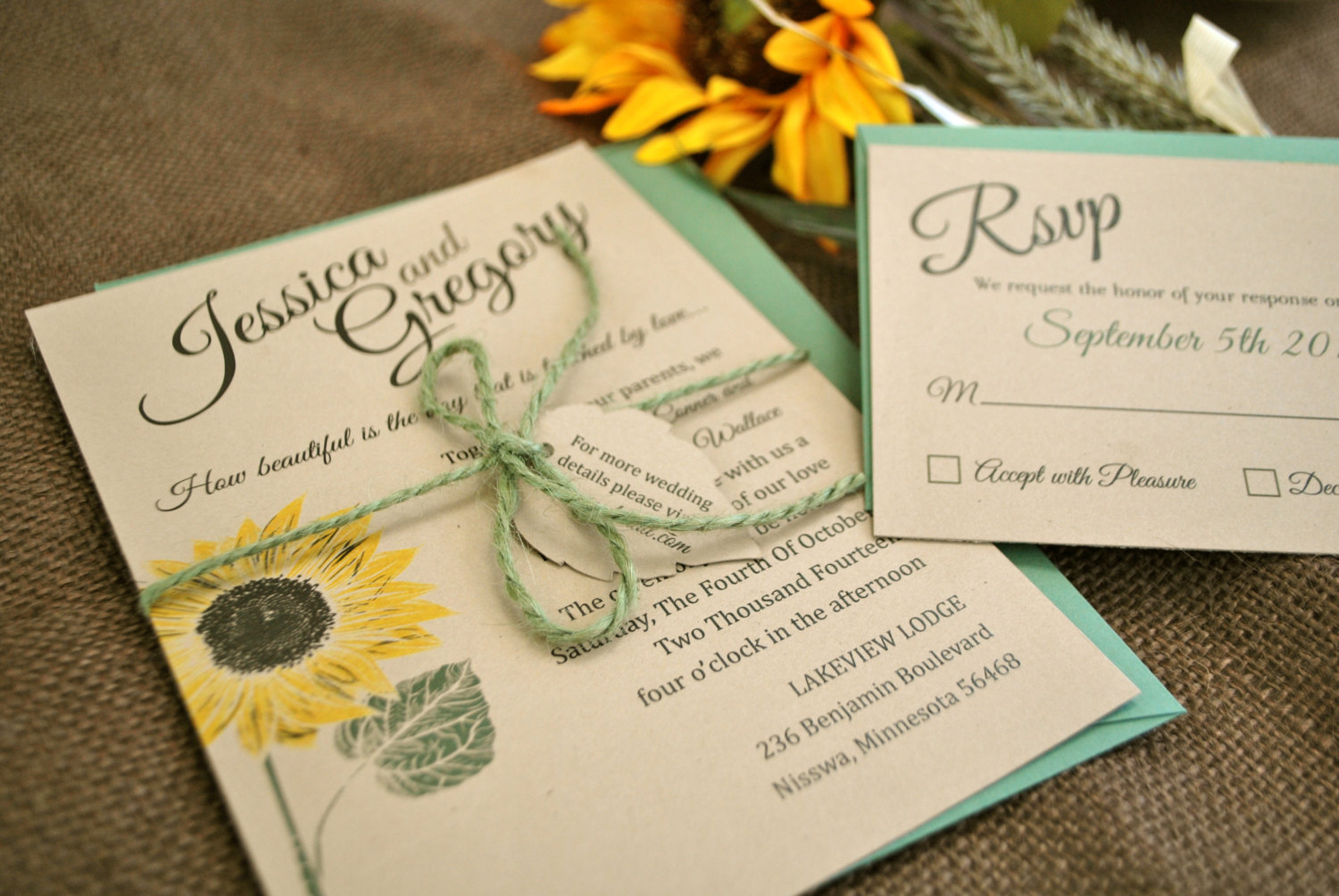 Masterly Yellow Sunflower Wedding Invitation Deer Pearl Flowers Sunflower Wedding Invitations Sets Sunflower Wedding Shower Invitations Kraft Mint Yellow Sunflower Wedding Invitation Kraft Mint wedding Sunflower Wedding Invitations
