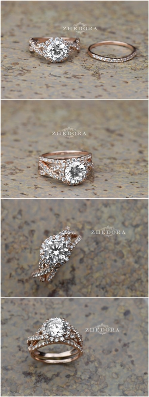 How To Match Your Engagement Ring and Wedding Band crazyforus