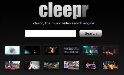 motore di ricerca di video musicali