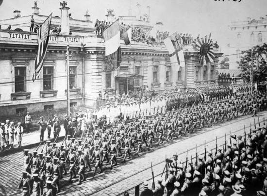 Allied Headquarters Building Vladivostok