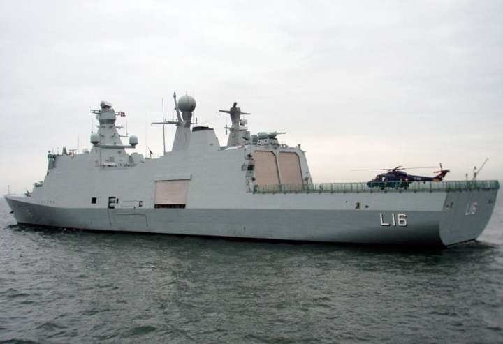 Shipbuilding industry woes may see the closing of the Odense yard, which built the innovative and much-admired Absalon for the Danish navy. Photo courtesy of Herbert via Wikimedia Commons.