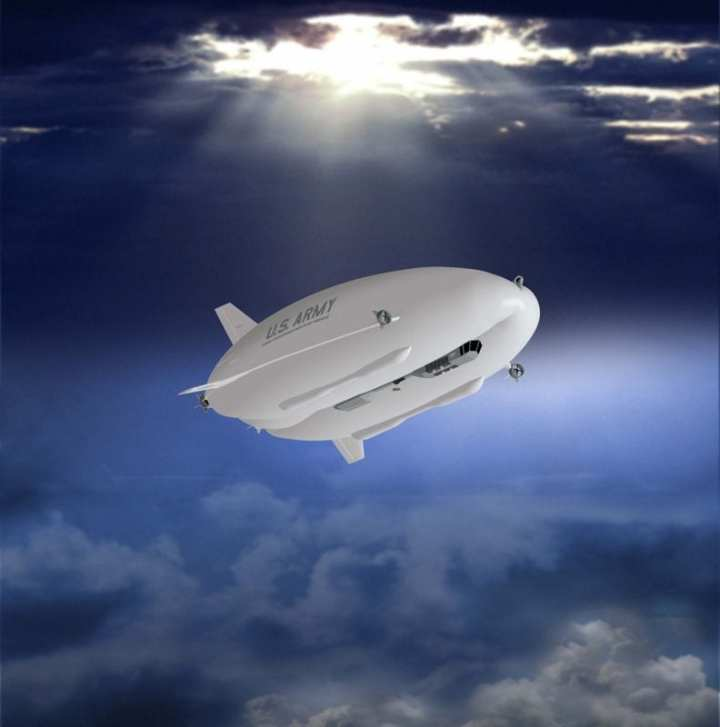 The U.S. Army awarded $517 million to Northrop Grumman for development of up to three Long Endurance Multi-intelligence Vehicle (LEMV) airships like the one depicted here, but some argue that such airships should have been airborne and in use a long time ago. Image courtesy of Northrop Grumman.