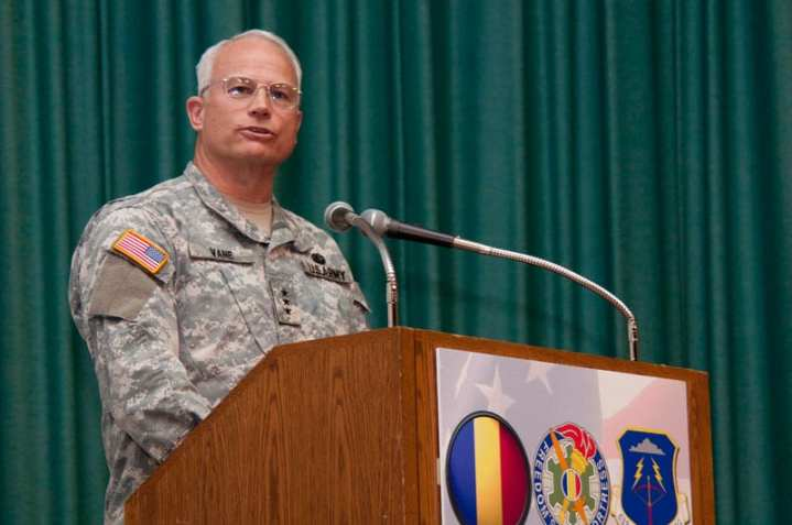 Lt. Gen. Michael A. Vane. U.S. Army photo by Sgt. Angelica Golindano.