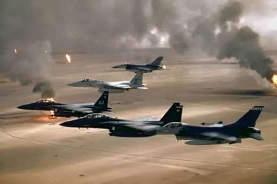 Anniversary of Desert Storm in Photos