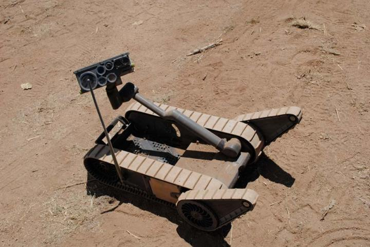 Small Unmanned Ground Vehicle (SUGV)