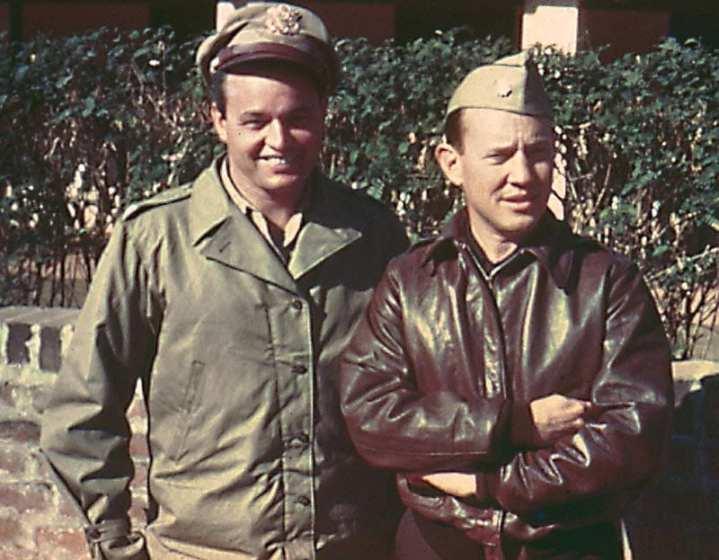 Col. Philip Cochran and Lt. Col. John Alison