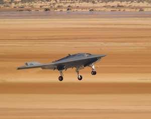 X-47B UCAS-D second flight