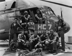 The crew that flew the Medal of Honor mission to rescue downed pilots
