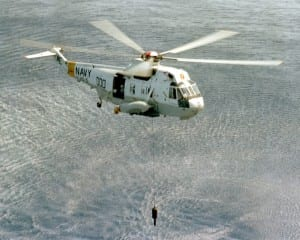 SH-3 Sea King carrier-based ASW helicopter Navy