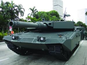 Singapore Army Leopard 2A4