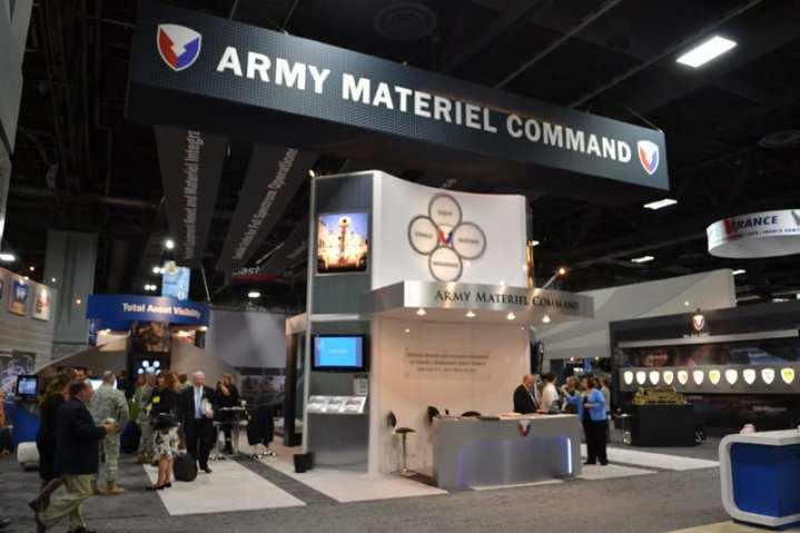 AMC booth at AUSA