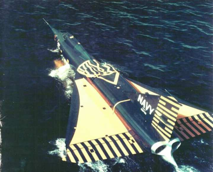 Convair F2Y-1 Sea Dart Test
