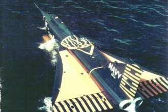 Convair F2Y-1 Sea Dart Test
