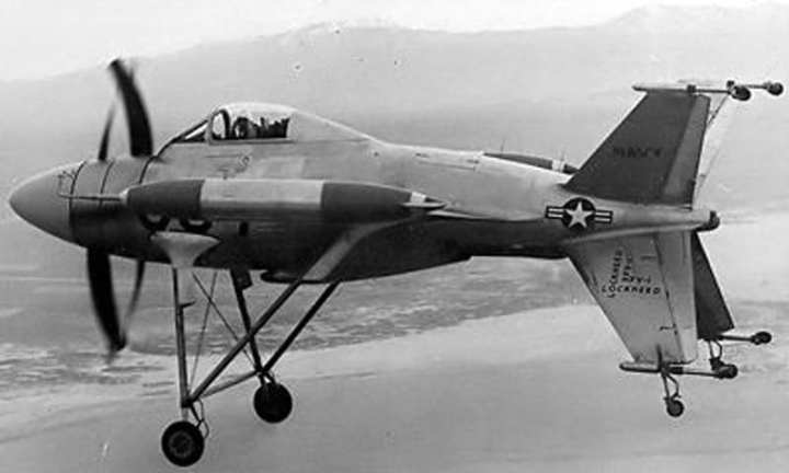 Lockheed XFV-1 Flight Test