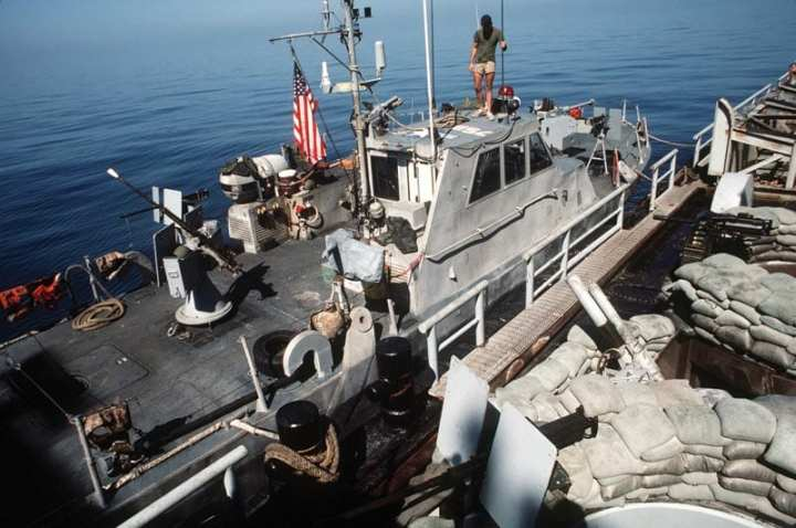 SEALs During Operation Prime Chance