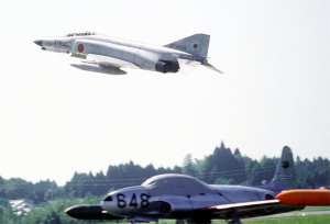F-4EJ and T-33