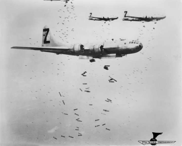 B-29s firebombs