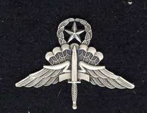 Military Free Fall Parachutist Badge, Jumpmaster