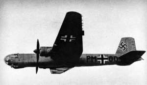 HE 177 In Flight