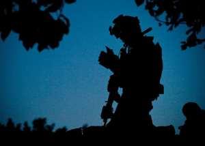 U.S. Navy SEAL In Afghanistan