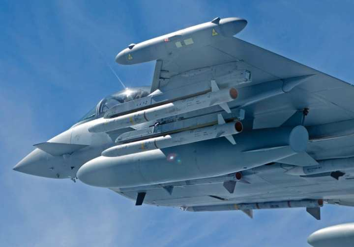 Royal Air Force F2 Typhoon