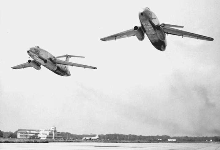 The two XB-51 prototypes
