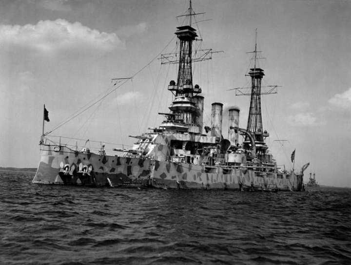 Battleship New Jersey 1918