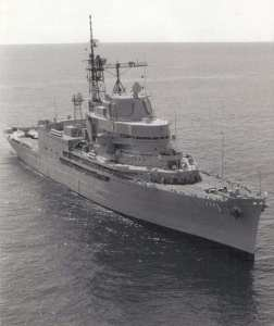 USS Norton Sound with Aegis