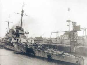 SMS Seydlitz after Jutland